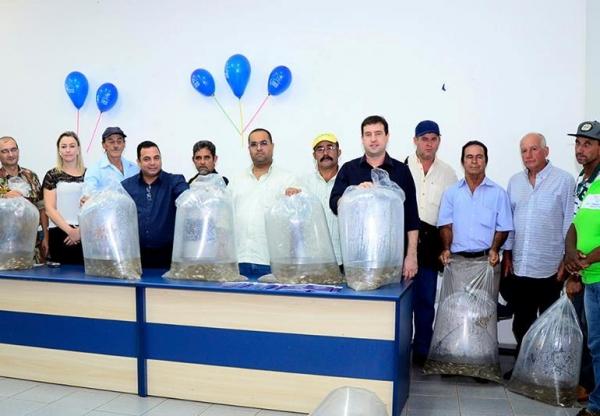 Ludimar projeta Ponta Porã como grande produtor de Peixe