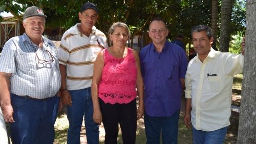 Prefeito Douglas Gomes participa da Festa de São Sebastião no Assentamento Ressaca