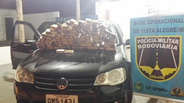 Drogas e munição são apreendidas pela PMRE da Base de Vista Alegre