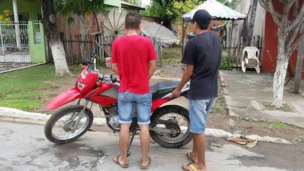 Polícia Civil recupera moto roubada recentemente em Porto Murtinho