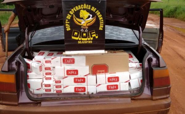 DOF fecha cerco à contrabandista na fronteira de Mato Grosso do Sul com o Paraguai e a Bolívia