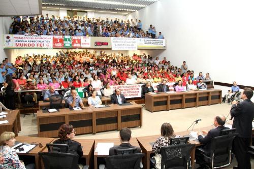 Assembleia Legislativa realizou 32 audiências públicas em 2015