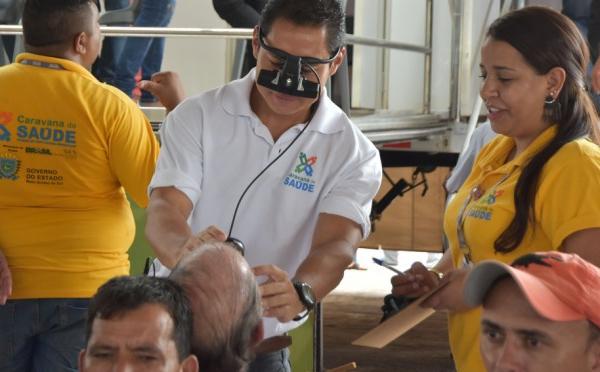 Caravana da Saúde registra mais de 500 pessoas nas consultas iniciais em Jardim