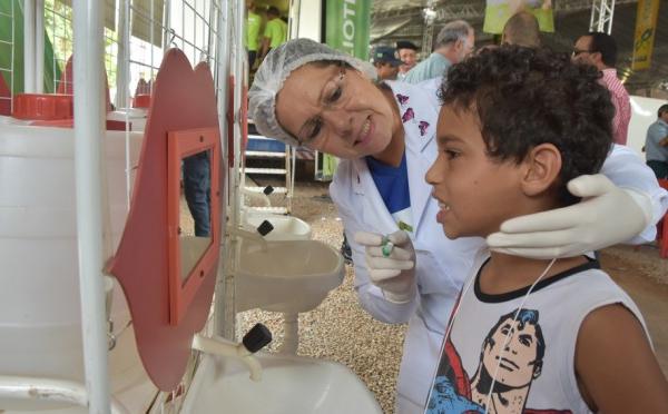 Prevenção do câncer de boca é tema de orintação na Caravana da Saúde de Jardim