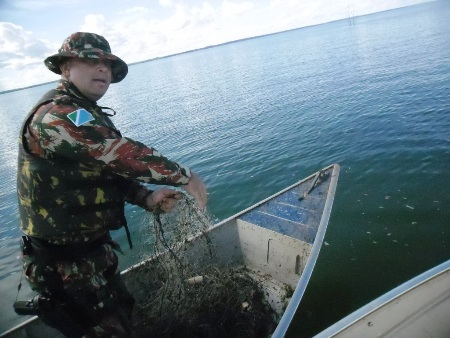 Polícia Militar Ambiental faz no Carnaval a maior apreensão de pescado desde 2007