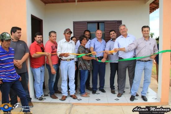 Prefeitura de Caracol entrega 33 casas para produtores rurais