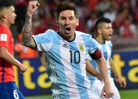 Di María marca, e Argentina vence Chile de virada