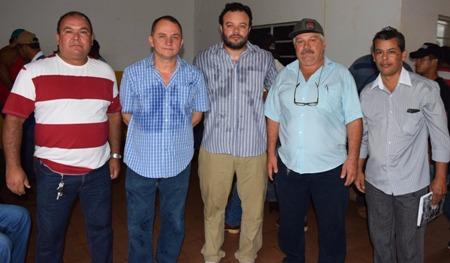 José Nina Ferreira e o novo secretario municipal de obras em Bela Vista