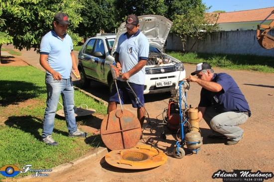 Ministério Publico autoriza SAAE a tomar providencias a respeito de esgoto