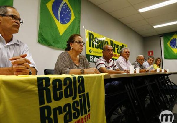 0 rganizadores querem cem mil em protesto contra Dilma no domingo