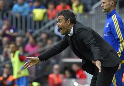 "Após Atlético sair da briga, Luís Enrique afirma: ""Nós merecemos este título"""