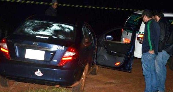 Pistoleiros executam homem a tiros de pistola 9mm em Ponta Porã