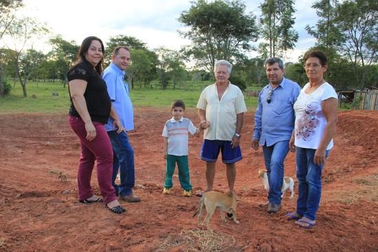 Prefeitura constrói pequenos açudes no Assentamento Guaviral
