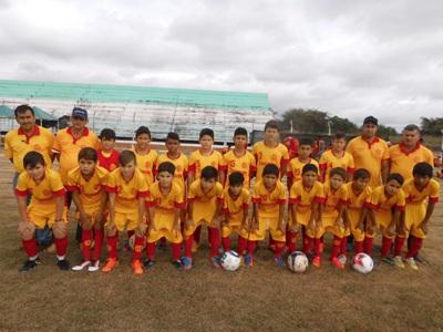 Em competição na Bolívia, SEI sagrou-se campeão na categoria sub 13