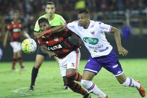 Flamengo perde para o Fortaleza e está eliminado da Copa do Brasil