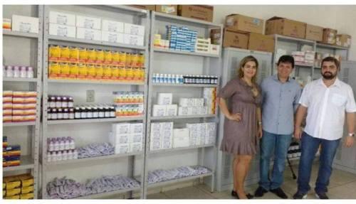 Prefeitura reforça estoque da Farmácia Básica de Antônio João