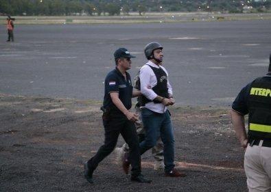 Extraditado, traficante Pavão será levado por avião da PF para SC