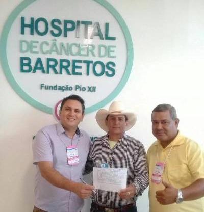 Hemerson Buiu participa de encontra de Coordenadores do Hospital do Câncer de Barretos