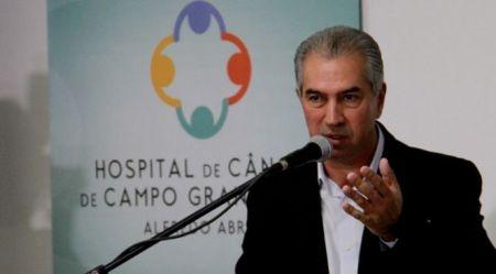 Reinaldo Azambuja aponta metas de investimentos para 2018