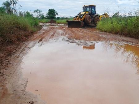 Prefeitura de Amambaí intensifica manutenção de pontes e estradas