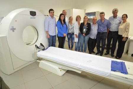 Em visita ao Hospital Regional de Ponta Porã, governadora em exercício e secretário de Saúde elogiam nova gestão e anunciam melhorias