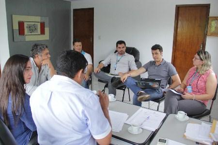 Reunião com representantes da Energisa em Bela Vista