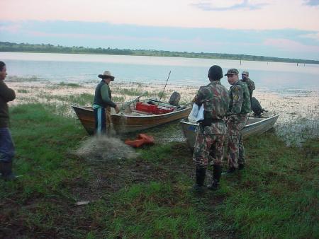 PMA autua 30, apreende 1232 kg de peixes capturados durante a piracema e aplica R$ 131,3 mil em multas