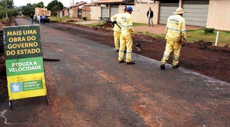 Mais de R$ 1 milhão serão investidos em asfalto em Bela Vista e Alcinópolis