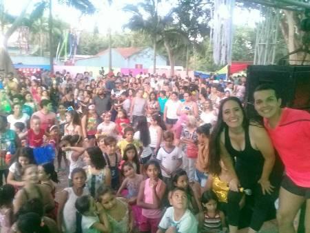 Vereadora Fabrizia Tinoco realiza carnaval de graça para a população de Bela Vista