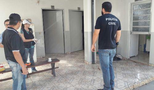 Ladrão arromba porta e furta fogão e botijão, da Câmara de Vereadores de Bela Vista