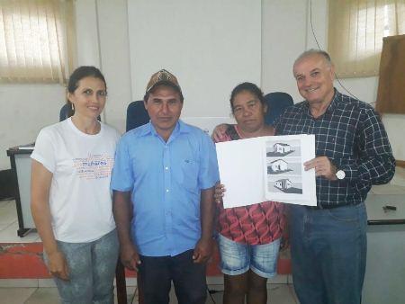 Programa habitacional irá beneficiar 11 famílias em situação precária em Caracol