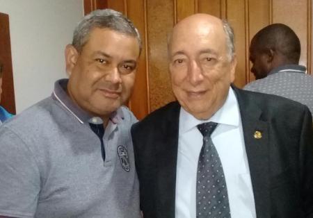 Hemerson Buiu solicita emenda parlamentar ao senador Pedro Chaves
