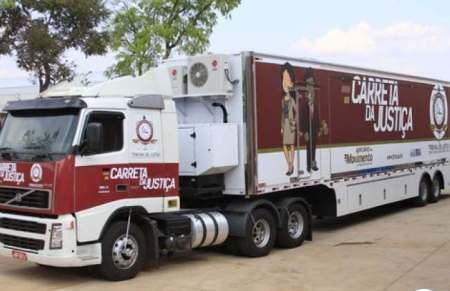 Carreta da Justiça vai levar serviços para Caracol a partir de segunda-feira