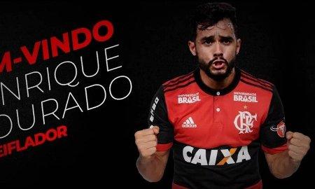 Flamengo anuncia a contratação de Henrique Dourado