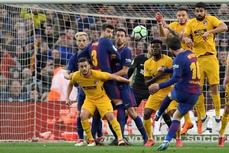 Com gol 600 de Messi, Barça vence Atlético e dispara na liderança do Espanhol