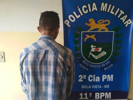 Policiais Militares da 2ª Companhia PM de Bela Vista prendem autor de roubo