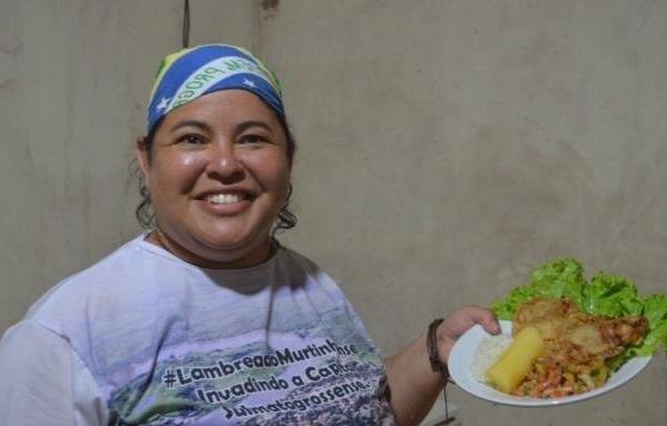 Festa tem cultura da fronteira com Lambreado no almoço, ao som da katchaka