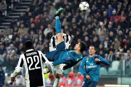 CR7 faz gol antológico, Real passa fácil pela Juve e encaminha classificação