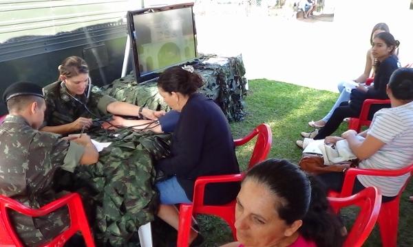 10º RC – MEC e Prefeitura realizam ação cívico social no Assentamento Caracol e Santa Marina