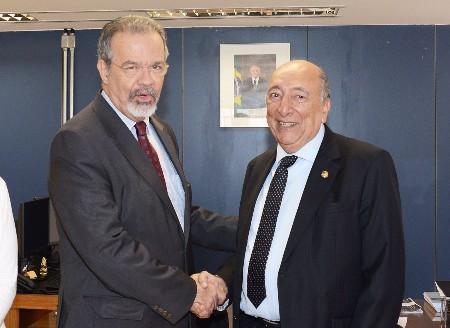 Jungmann pede para Pedro Chaves criar Frente Parlamentar em defesa das fronteiras do Brasil
