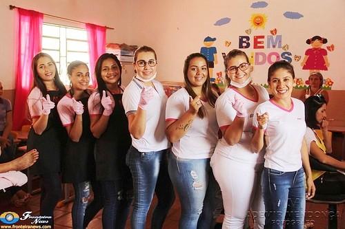 Projeto Social do Espaço Cris realiza Ação na Escola Perpetuo Socorro