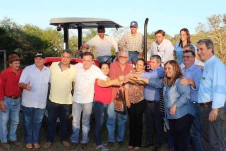 Marquinhos Lino e Ramão Paredes destacam apoio para os Assentamentos, com Patrulha Mecanizada