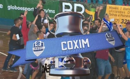 Xitão marca duas vezes e Coxim fica com o título da Copa Morena