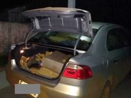 Em Bela Vista, homem é encontrado em mata após abandonar carro com 622 Kg de maconha