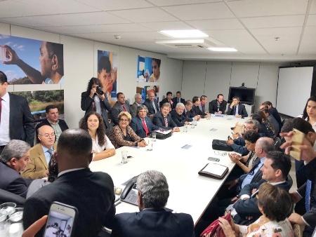 André acompanha prefeitos de MS em audiências na Capital Federal