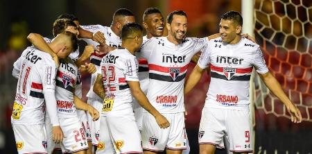 Trio ofensivo participa de 88% dos gols do São Paulo no Brasileiro
