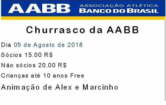 Bela Vista: Churrasco da AABB