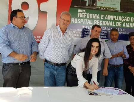 Emenda de Mara Caseiro compõe recurso para reforma e ampliação do Hospital de Amambai