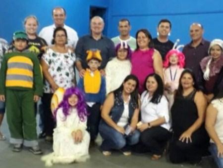 O Grupo de Teatro Novo Sonho  Participou do Fetran