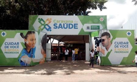 Caravana da Saúde garante acesso aos serviços de saúde e realiza mais de 500 mil atendimentos em 3 anos e meio